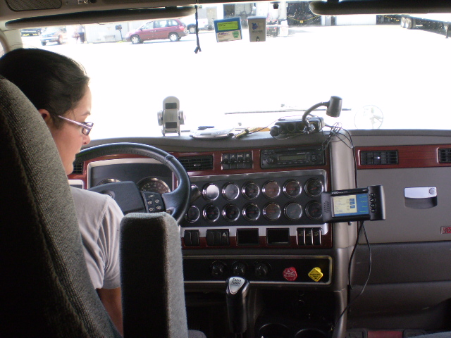 ELD in a Kenworth